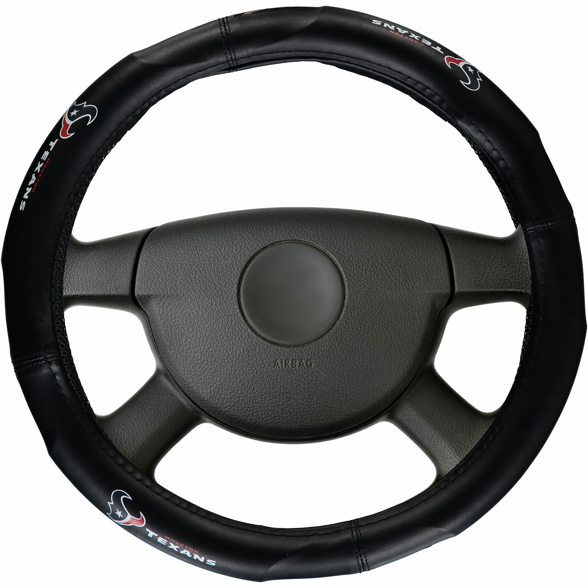 Houston Texans Steering Wheel Cover - No Size