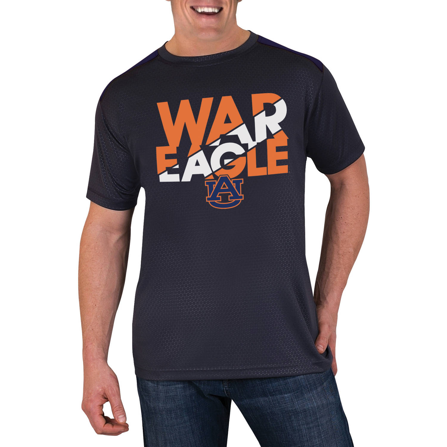 NCAA Auburn Tigers Men's Athletic-Fit Impact T-Shirt