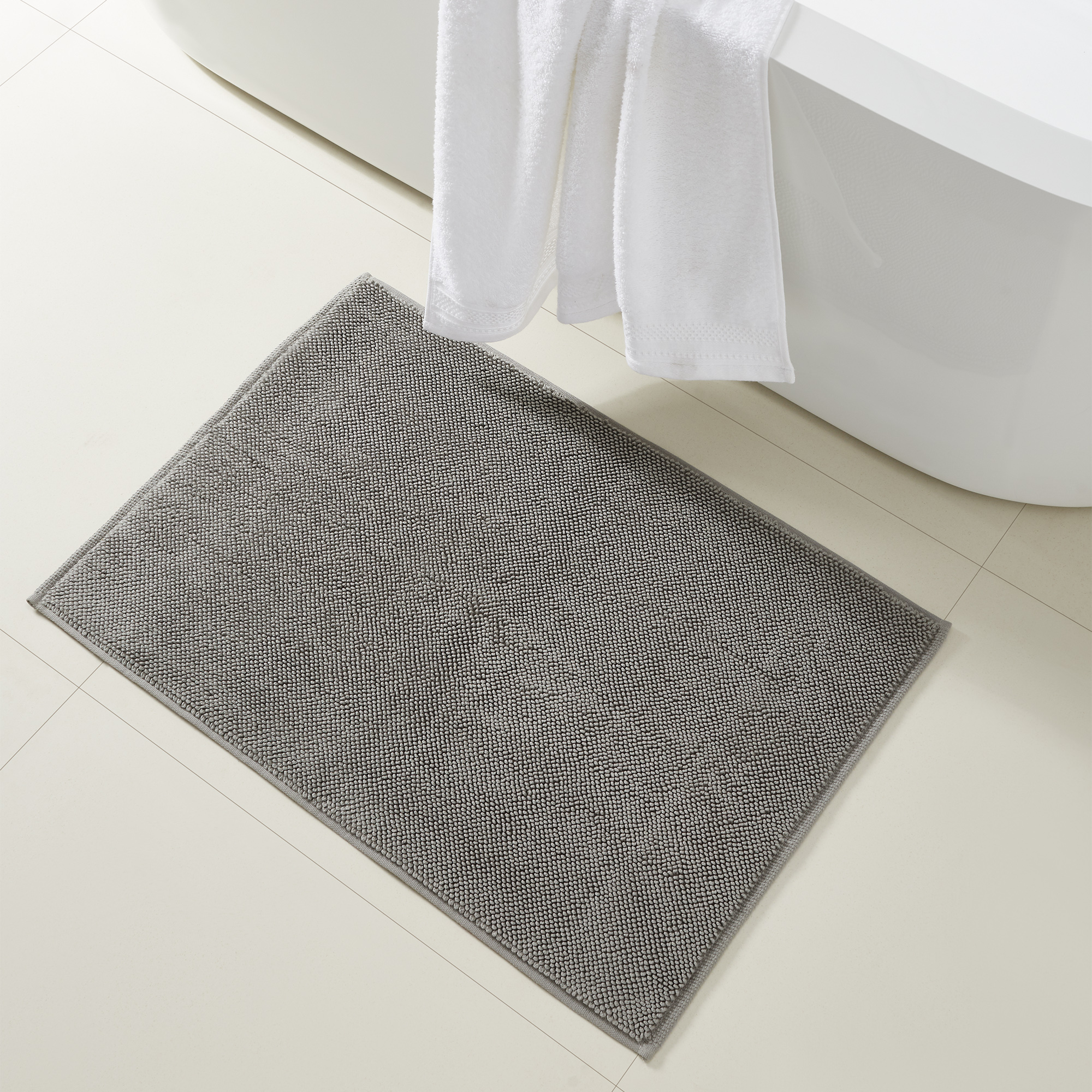 Modern Threads Reversible Bath Rugs 100, Reversible Bathroom Rugs