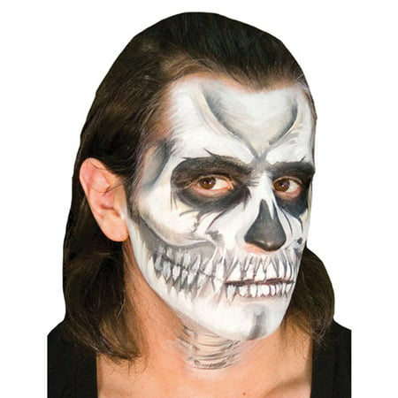 Skull Face Makeup Halloween Men (EZ Voo Doo Skull Halloween Makeup)