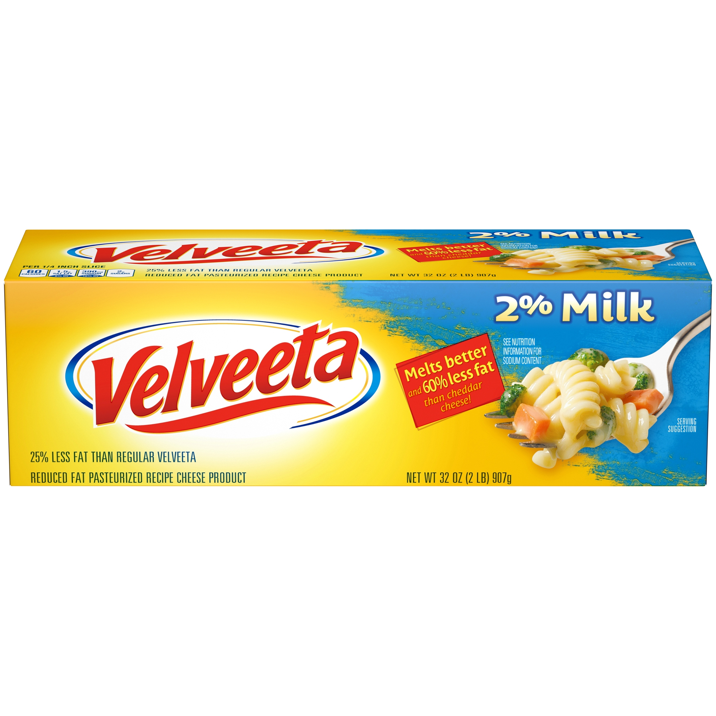 Velveeta 2% Milk Cheese 32 oz. Box
