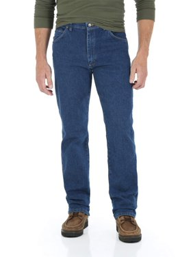 Wrangler Big Men's Regular Fit Jeans with Comfort Flex Waistband