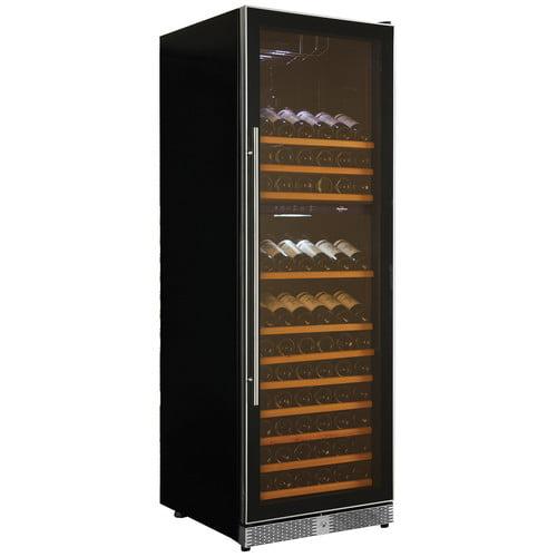 Koolatron Elite Series 173 bottle Grand Dual Zone Wine Fridge for Built-In or Freestanding Use WC160DZ