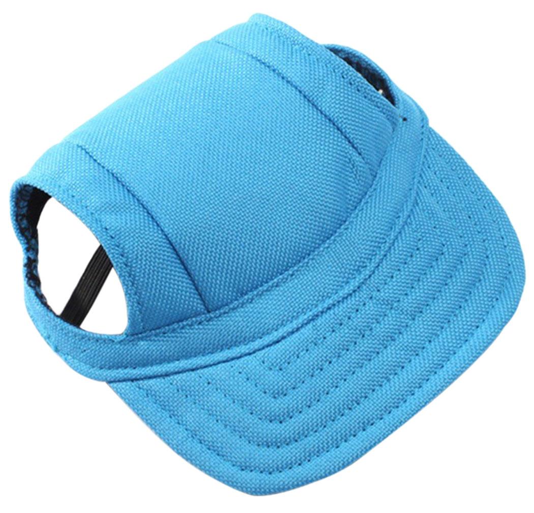 Dog Hat, Legendog Summer Small Pet Dog Cat Puppy Hat Canvas Baseball Sun Visor Hat for Dogs Cats Pets