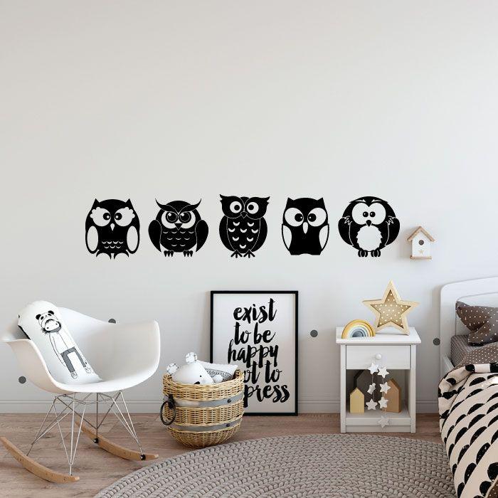 XL,Black Digger Kids Boy Bedroom Nursery Wall Art Stickers Decals Vinyl Decor Room Home