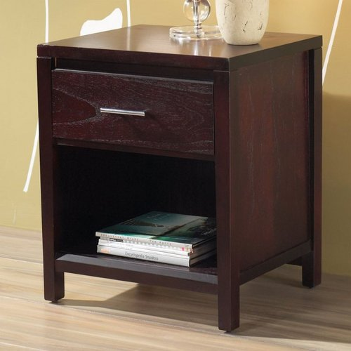 Modus Furniture NV2381P Nevis Charging Station Nightstand