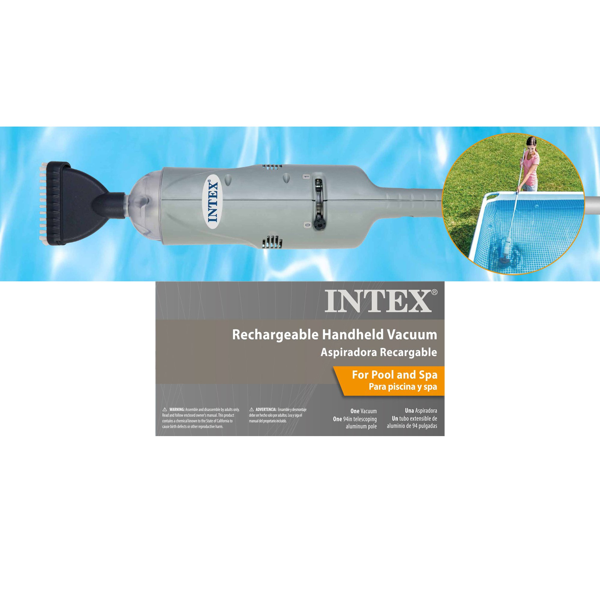 Intex cleaning above ground swimming pool rechargeable handheld intex cleaning above ground swimming pool rechargeable handheld vacuum 28620e walmart fandeluxe Gallery