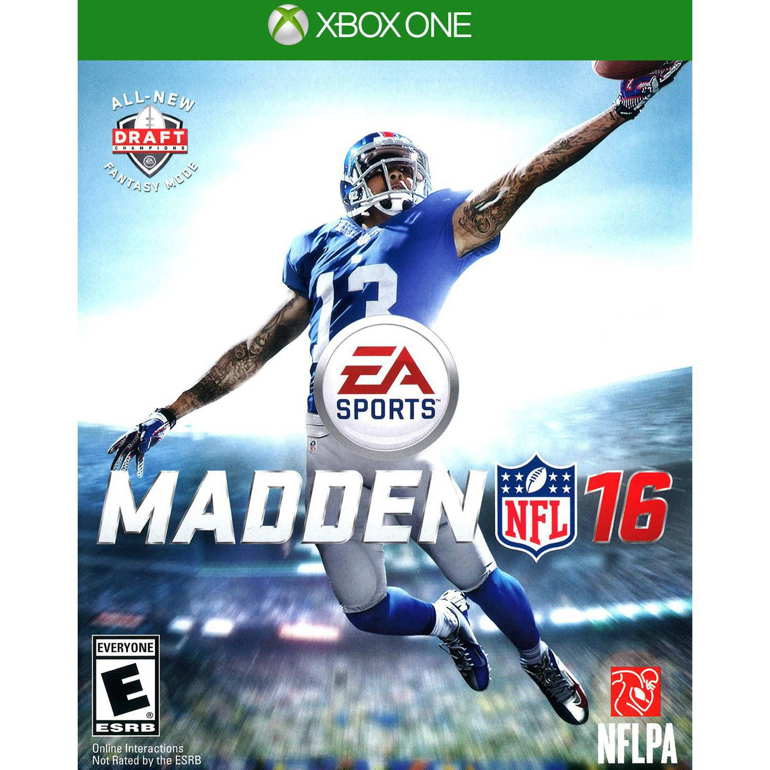 Madden NFL 16, Electronic Arts, Xbox One, 014633733815