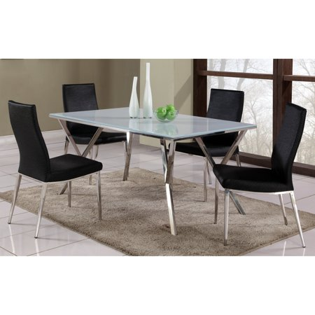 Chintaly Jade 5 Piece Dining Table Set With Jamila Chairs