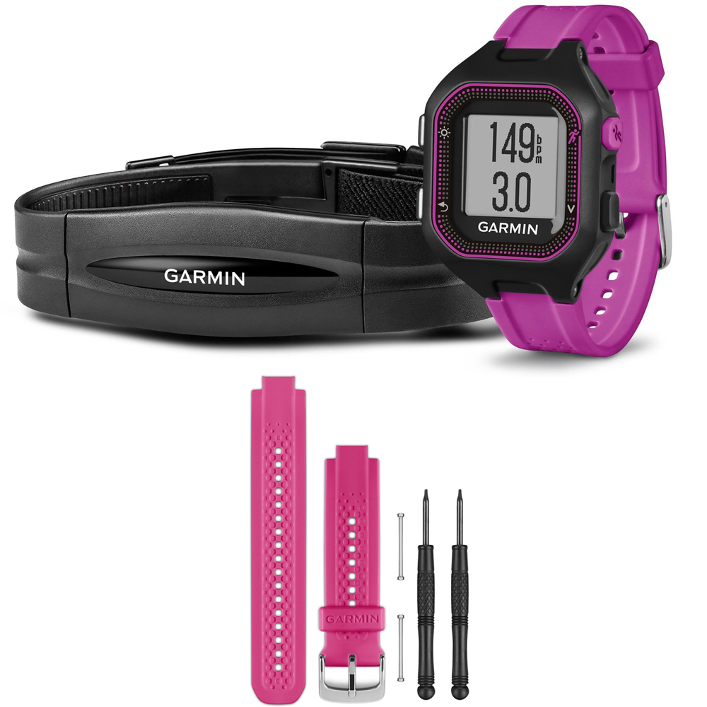 Garmin Forerunner 25 GPS Fitness Watch w/ Heart Rate Moni...