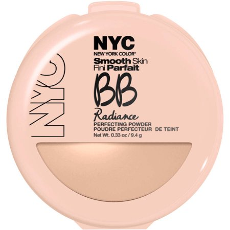 N Y C  New York Color Bb Radiance Perfecting Powder  0 33 Oz  Naturally Beige