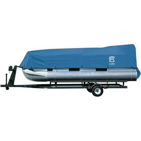 (Classic Accessories Stellex Pontoon Boat Storage Cover, Fits Boats 17' - 24' L)