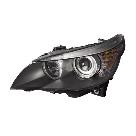 2008-2010 BMW 5 Series Halogen Headlight Left Driver Side Headlamp Assembly