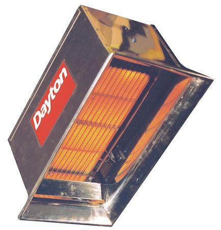 Commercial Infrared Heater,LP,30,000 DAYTON 3E460