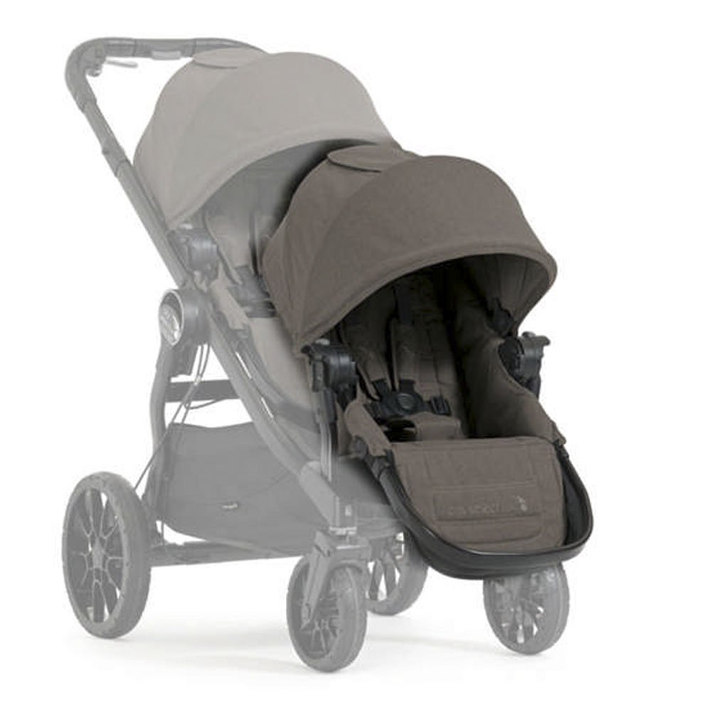 Baby Jogger City Select Lux Stroller Second Seat Combo Taupe