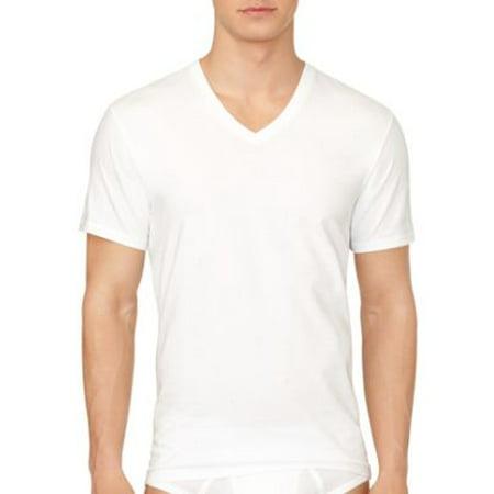 da528bcacf Calvin Klein - Calvin Klein Men's 3-Pack Cotton Classic Short Sleeve V-Neck  T-Shirt 4065 - Walmart.com
