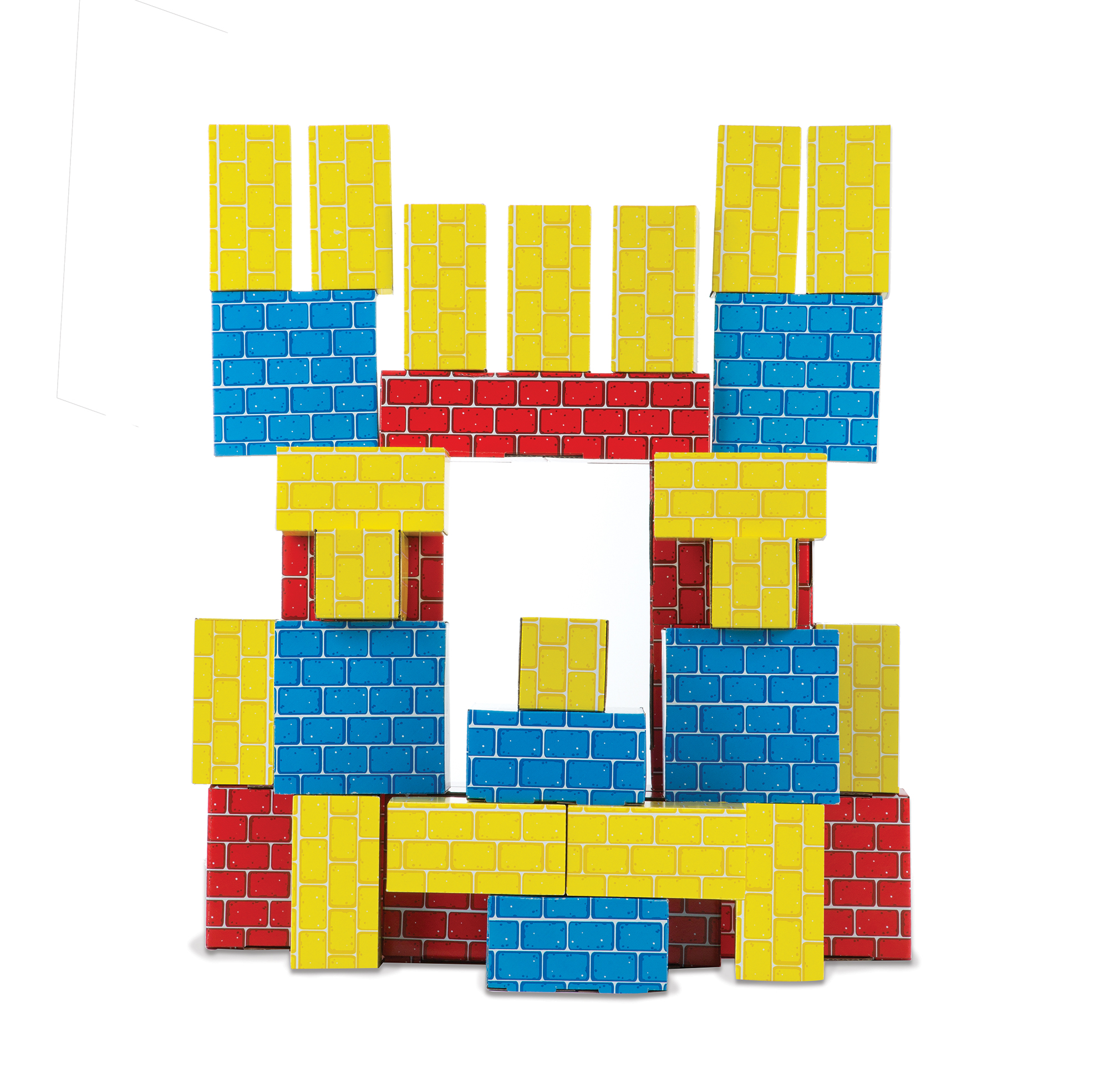 Melissa & Doug 30 Giant Cardboard Building Blocks by Melissa & Doug