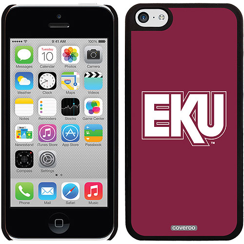 Eastern Kentucky EKU Full Design on Apple iPhone 5c Thinshield Snap-On Case by Coveroo