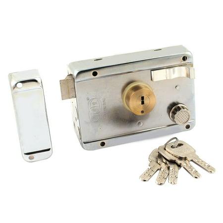 Office Home Security Right Hand Deadbolt Rim Door Locks with (High Security Rim)