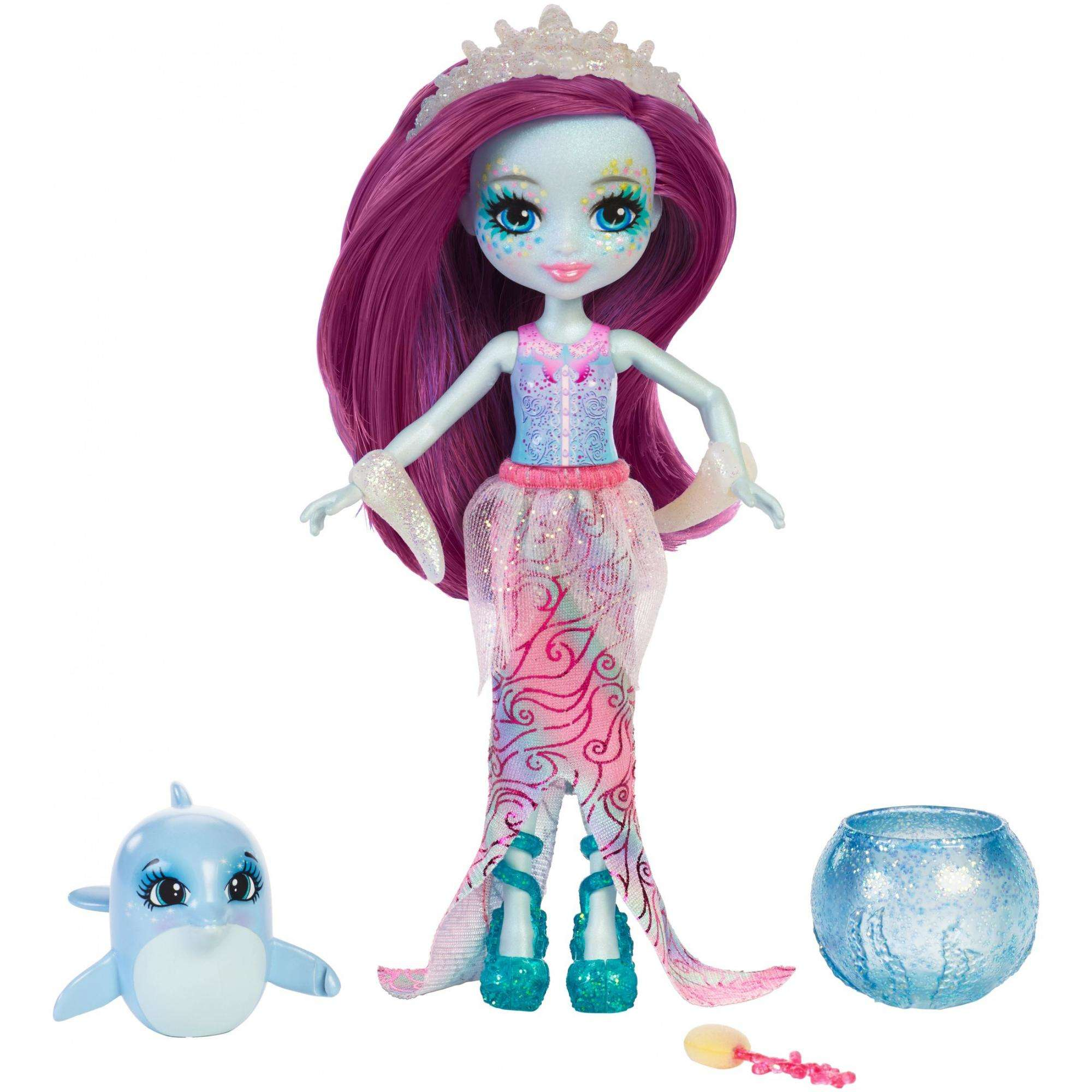 Enchantimals Dolce Dolphin Dolls by Mattel