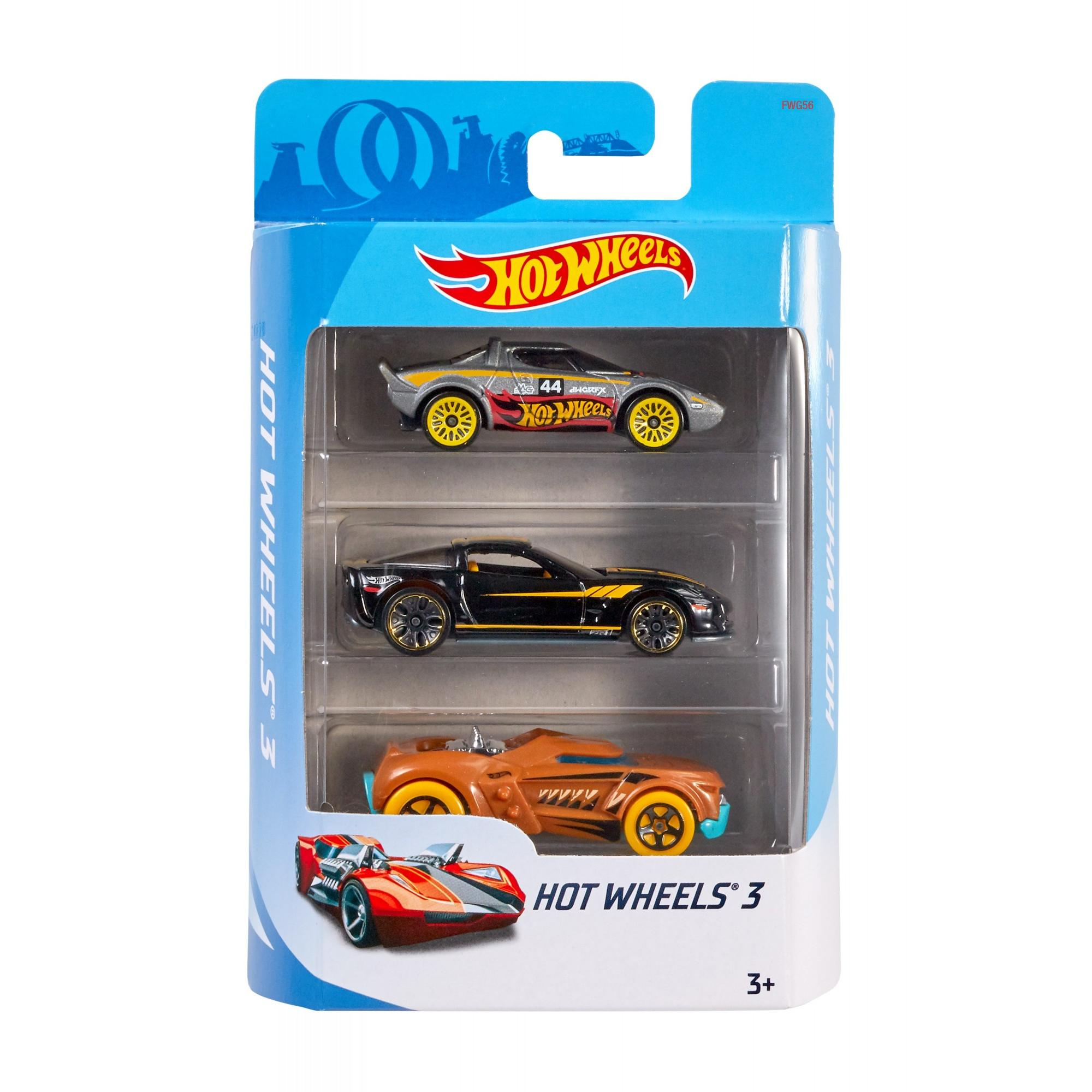Hot Wheels 3-Pack (Styles May Vary)