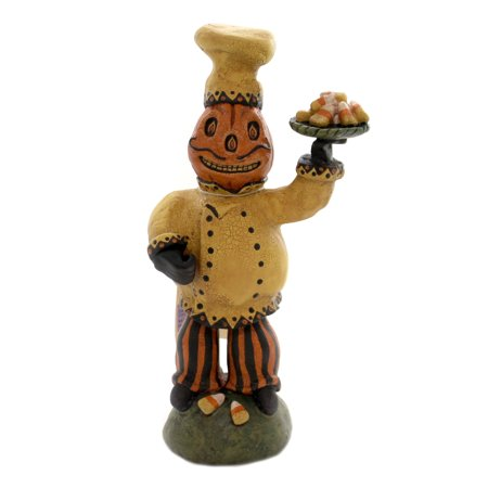 Halloween CHEF CANDY CORN Polyresin C.R.Mc Clenning 24102 (Studio C Halloween)
