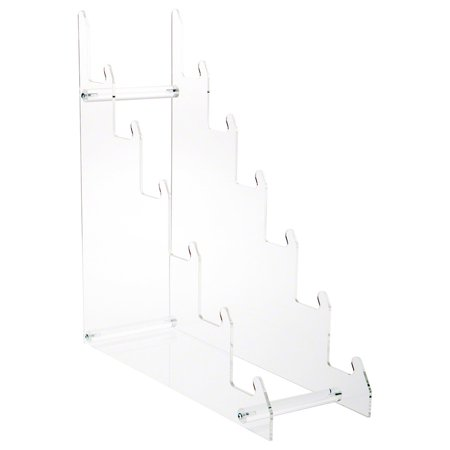 Plymor Brand Clear Acrylic 6-Tier Display Easel