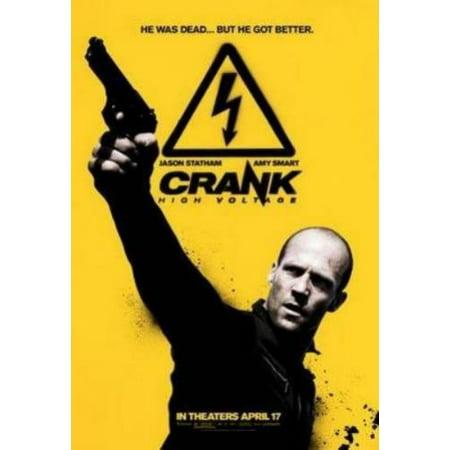 Crank High Voltage Jason Statham Movie Poster 11X17 Mini Poster