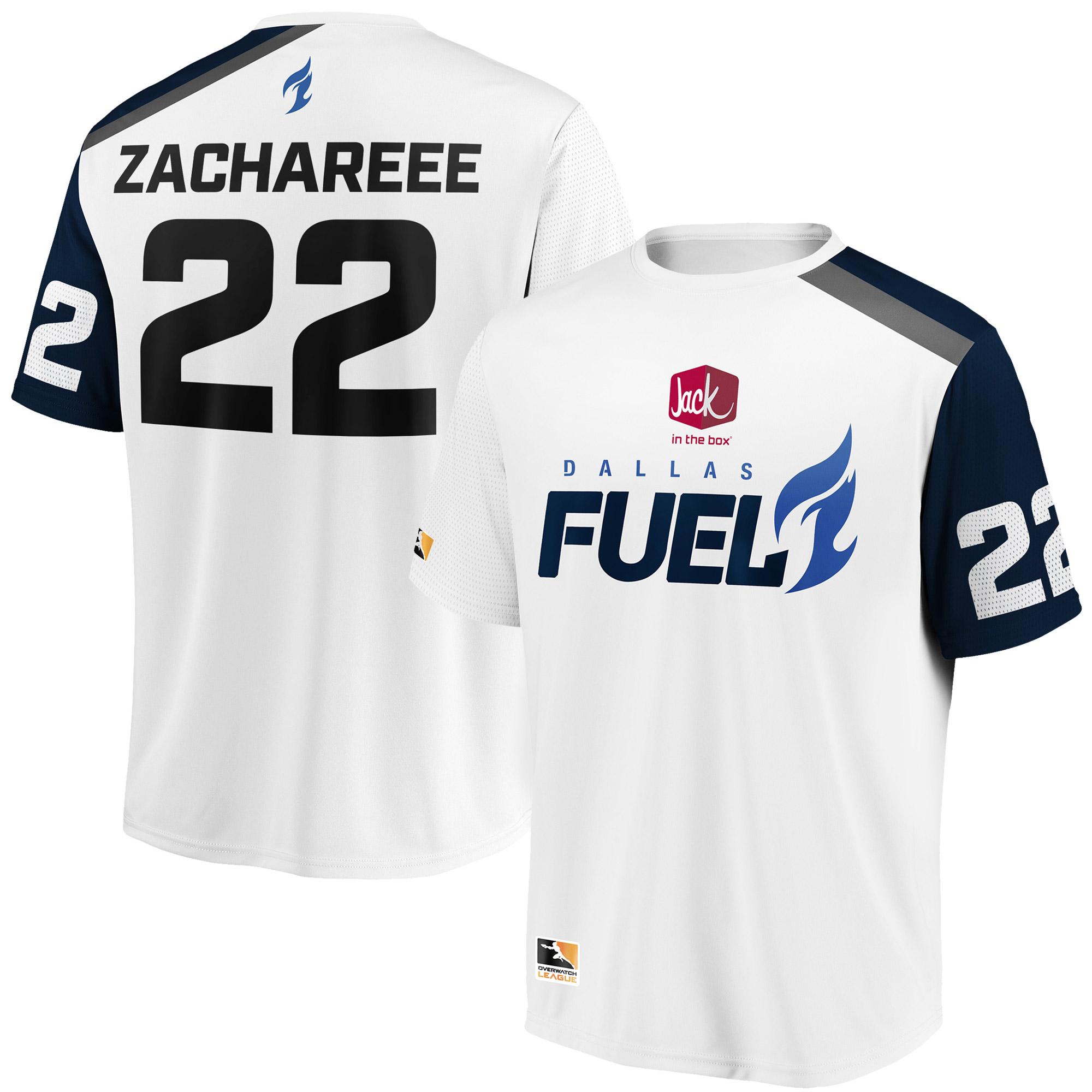 ZachaREEE Dallas Fuel Overwatch League Replica Away Jersey - White
