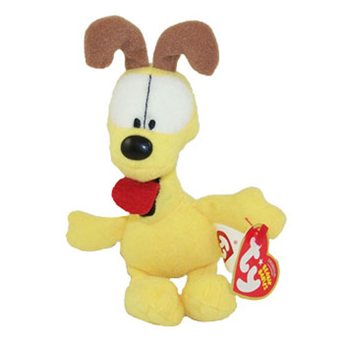 TY Beanie Baby - ODIE the Dog (DVD Exclusive) (Small Beanie - 7 x 2 inch)
