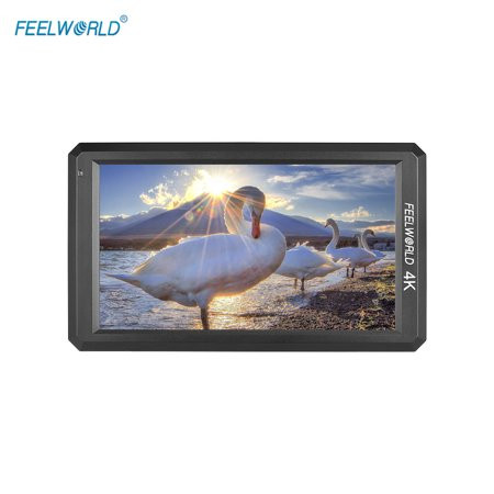 FEELWORLD F6 5.7inch IPS 1080P Camera Field Monitor Support 4K HD Input 1400:1 High Contrast for Canon Nikon Sony Panasonic DSLR