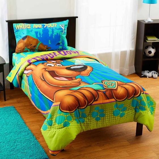 Scooby Doo Smiling Twin Bedding Comforter