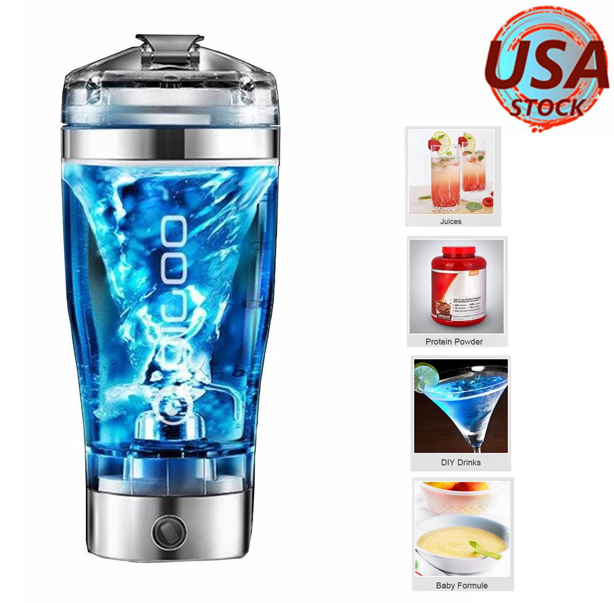 Digoo Electric Blender Protein Shaker Bottle 450ml Free Portable Vortex Mixer