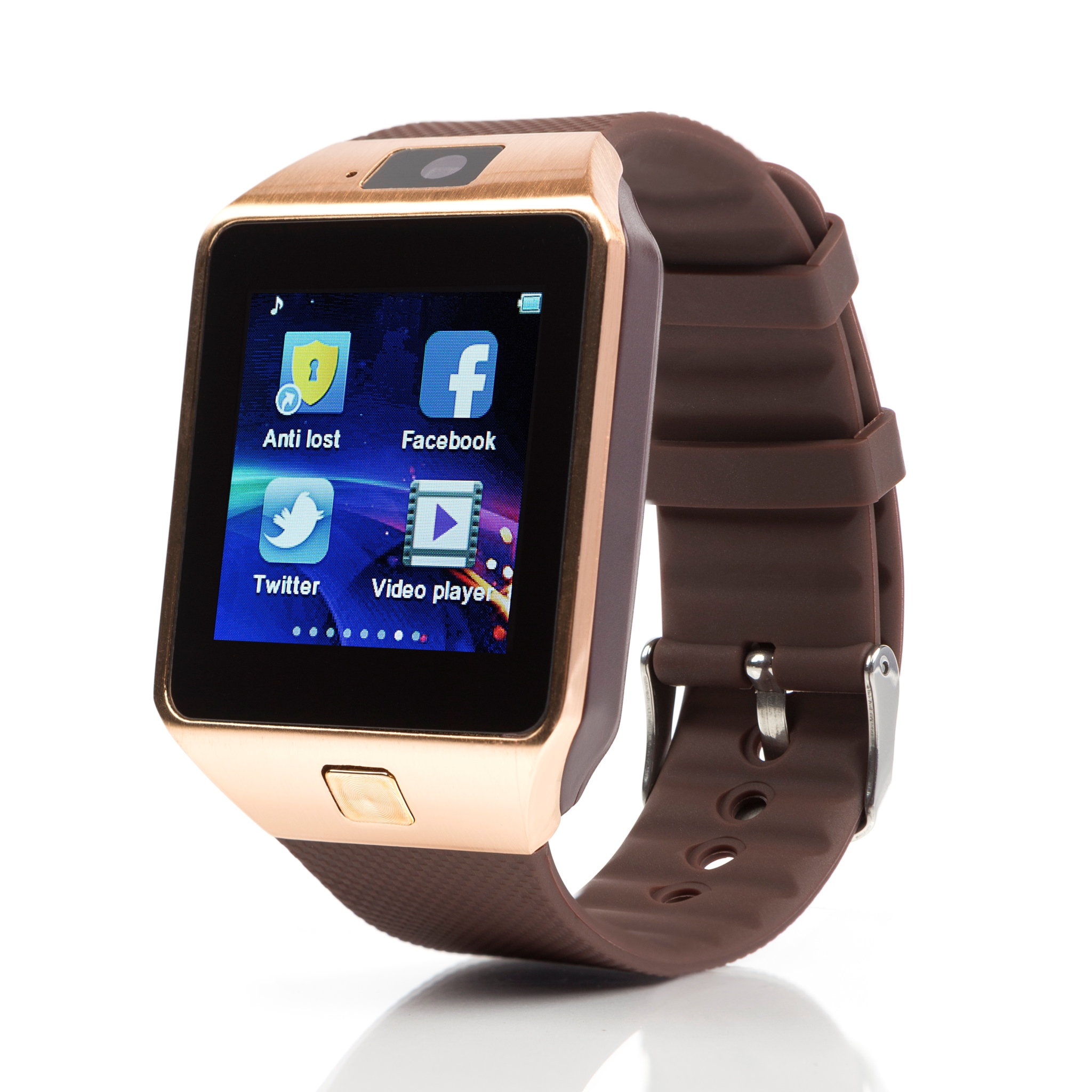 TechComm DZ09 Smart Watch with 0.5MP Camera Bluetooth GSM for Android Phones