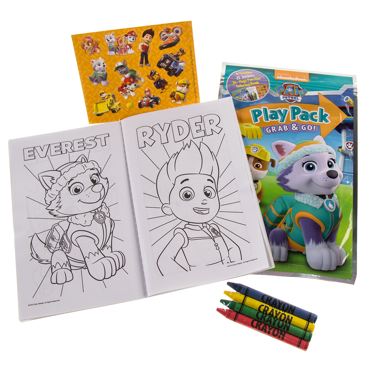 Set Of 15 Bendon Kids Play Packs Fun Party Favors Coloring Book ...