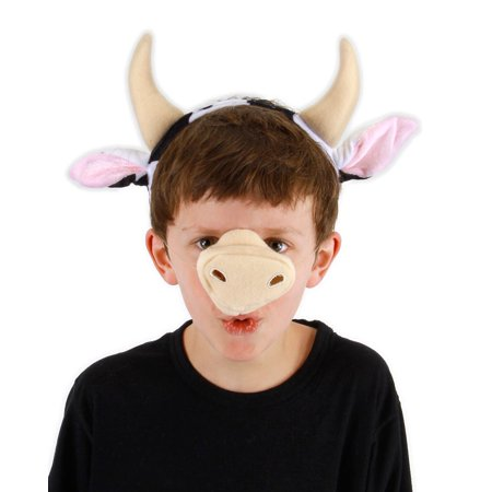 Halloween Cow Ears (Cow Kit Adult Halloween)