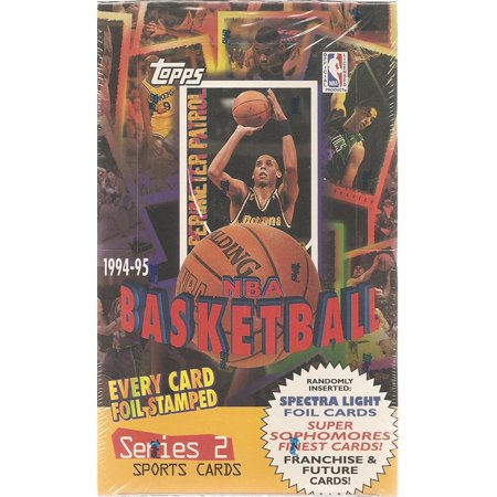 1994-95 Basketball Cards Series 2 Box, 1994-95 Topps By Topps