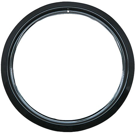 Range Kleen 1 Small Trim Ring, Style D fits Hinged Electric Ranges GE/Hotpoint/Kenmore, Black