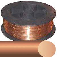 Southwire 10SOLX800BARE Linear Electrical Wire, 10 AWG, 800 ft, Bare per SPOOL