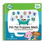 LeapFrog LeapStart Pet Pal Puppies Math Pre-Kindergarten Activity Book