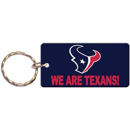 Houston Texans Laser Cut Xpression Logo Keychain - No Size