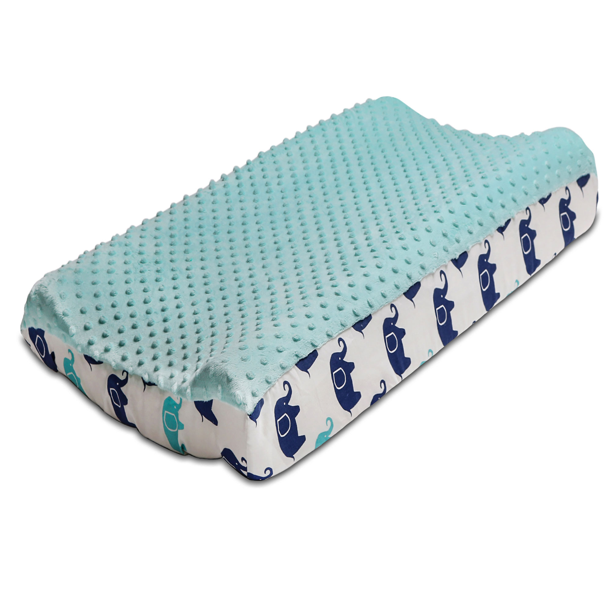 The Peanut Shell Baby Changing Pad Cover - Mosaic Collection - Fits 32 by 16 Inch Pad
