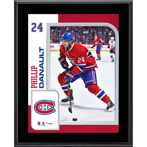 "Phillip Danault Montreal Canadiens 10.5"" x 13"" Sublimated Player Plaque - No Size"
