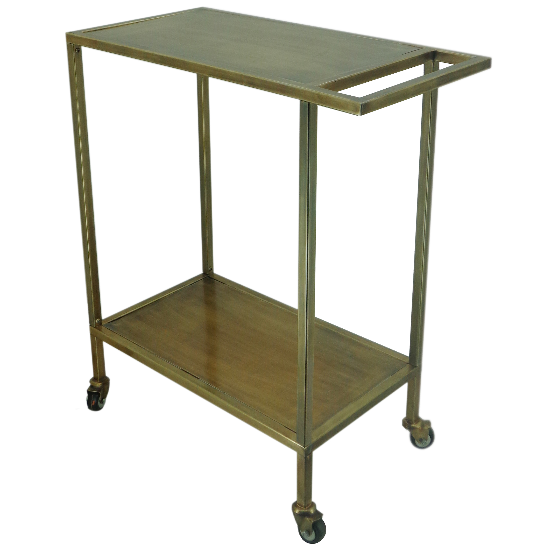 A&B Home Metal Serving Cart Table by A&B Home