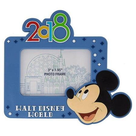 Disney Parks 2018 Walt Disney World Mickey Photo Frame Magnet New