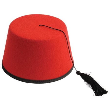Red Fez 11th Doctor Who Aladdin Prince Eleventh Matt Smith Hat Dr. Hat TV Felt