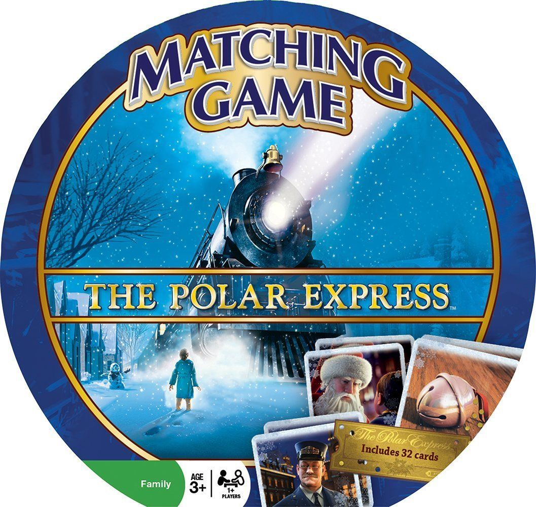 The Polar Express Matching Game by Masterpieces