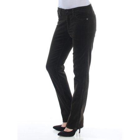 Ralph Lauren Petite Jeans (RALPH LAUREN Womens Green Straight leg Jeans Petites  Size: 2)
