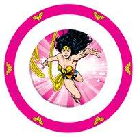 NUK Justice League Dinnerware Lightweight Bowl, Wonder Woman