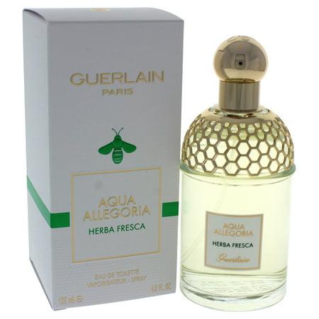 Aqua Allegoria Herba Fresca by Guerlain for Women - 4.2 oz EDT Spray - Guerlain Edc Spray